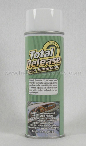 Total Release Odor Eliminator New Car