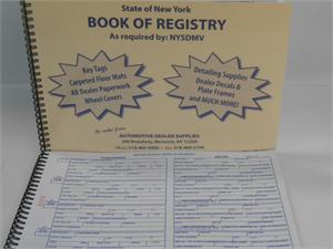 Book of Registry - Spiral Bound
