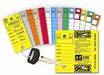 Versa Tag Lite Key Tag Wrap Plastic - 250Ct