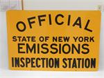 NYS Emission Control Sign