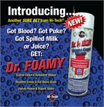 Hi Tech Dr. Foamy Enzyme Carpet Cleaner 18 oz.