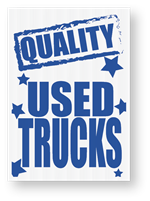 Jumbo Underhood Signs-Quality Trucks
