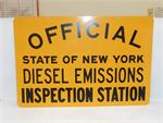 NYS Diesel Emissions Sign